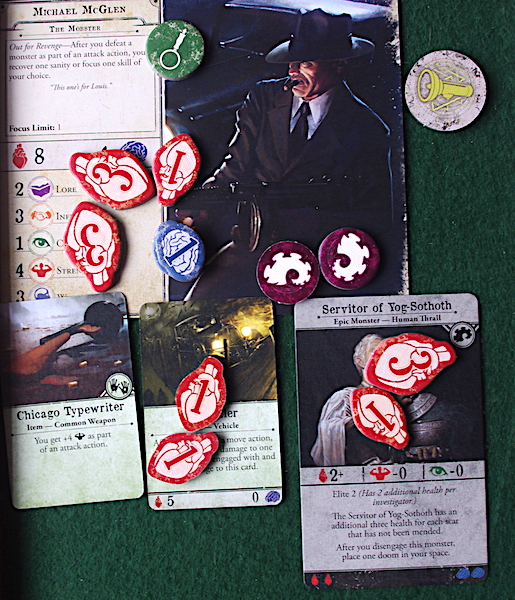 Arkham Horror 3rd Edition - Michael McGlen