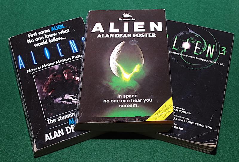 Alien Trilogy by Alan Dean Foster