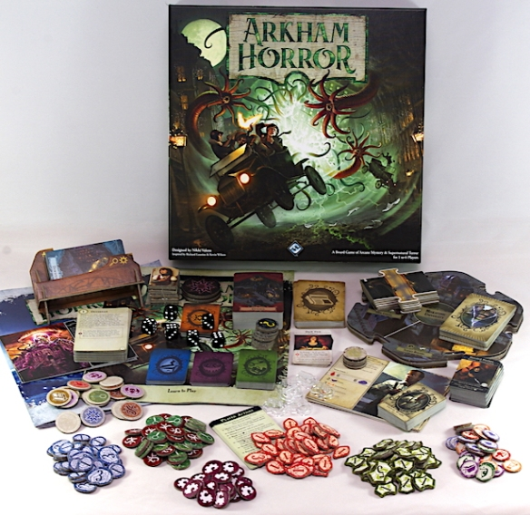 Arkham Horror 3rd Edition - What's in the box?