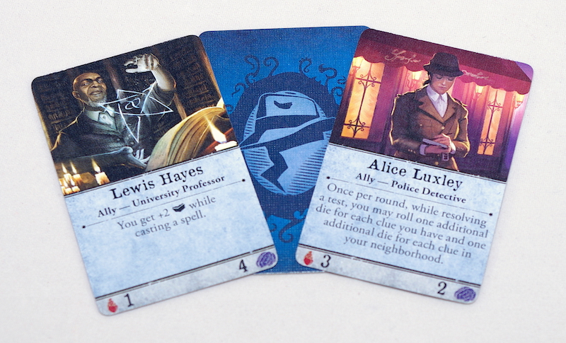 Arkham Horror 3rd Edition - Ally cards