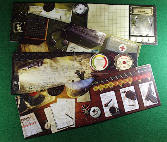 U-Boot The Board Game - Player boards