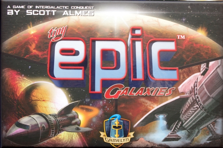 Tiny Epic Galaxies - Box art