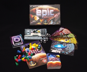 Tiny Epic Galaxies - What's in the box?