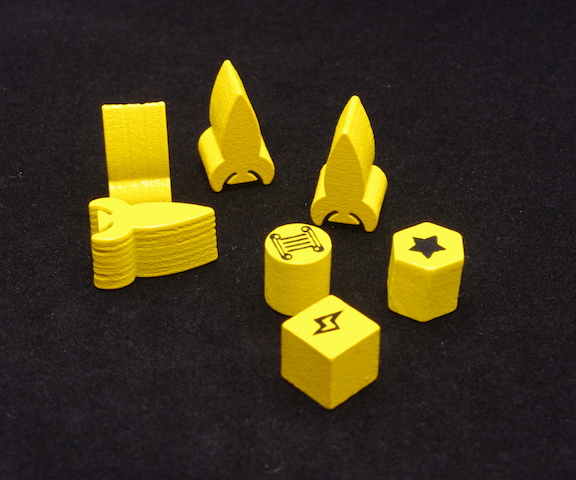 Tiny Epic Galaxies - Wooden tokens