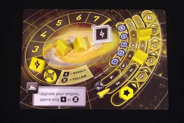 Tiny Epic Galaxies - Player Setup
