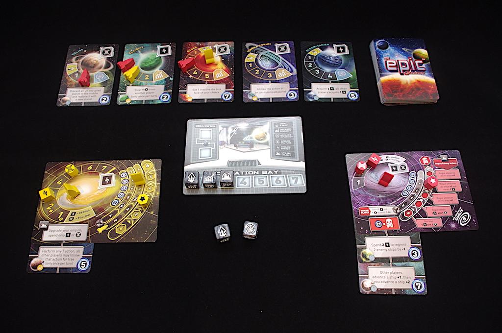 Tiny Epic Galaxies - Game setup