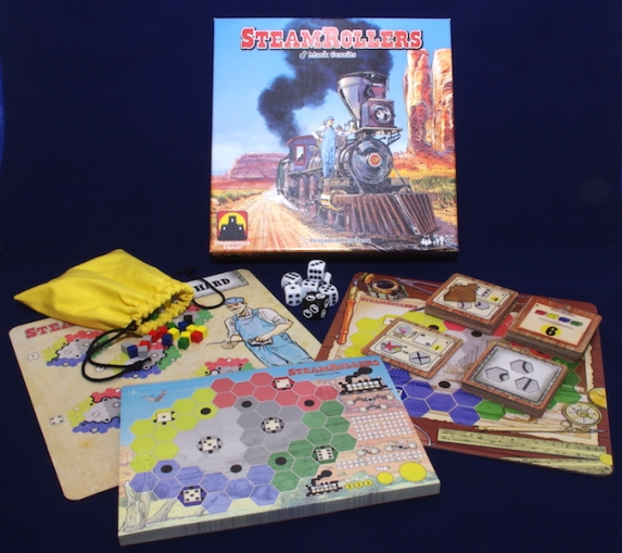 SteamRollers - What's in the Box?