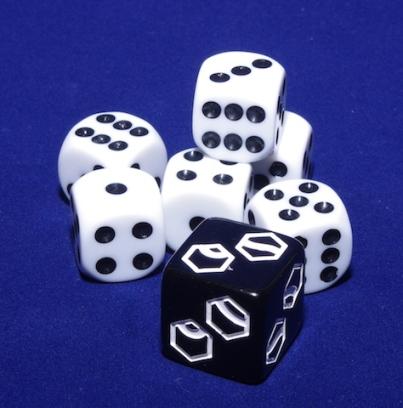SteamRollers - dice