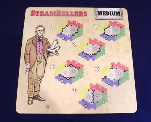 SteamRollers - setup aid