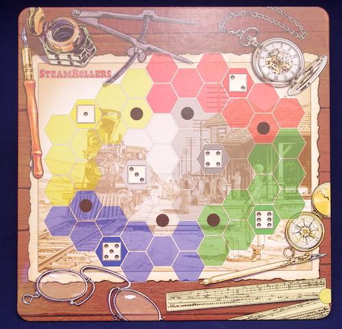 SteamRollers - Board