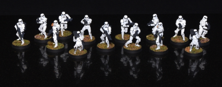 Stormtroopers - All the core set