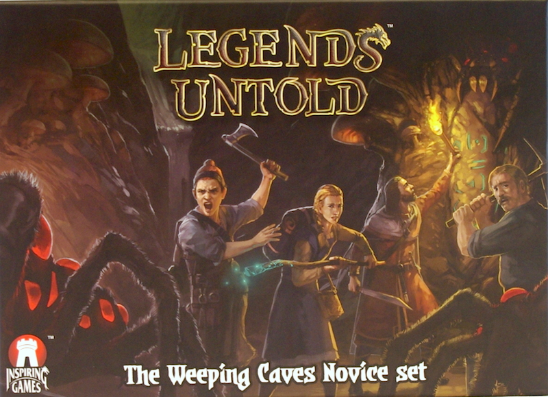 Legends Untold: The Weeping Caves Novice Set
