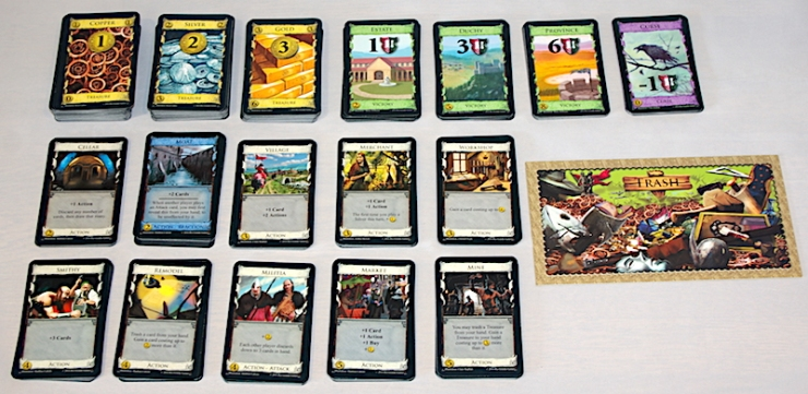 Dominion Second Edition - Supply Set-up