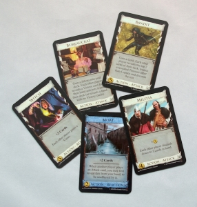 Dominion Second Edition - Attack and Reaction cards