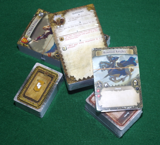 Time of Legends: Joan of Arc - Cards