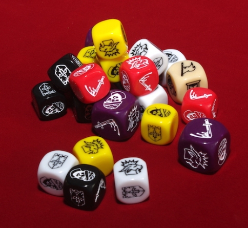 Time of Legends: Joan of Arc - Dice