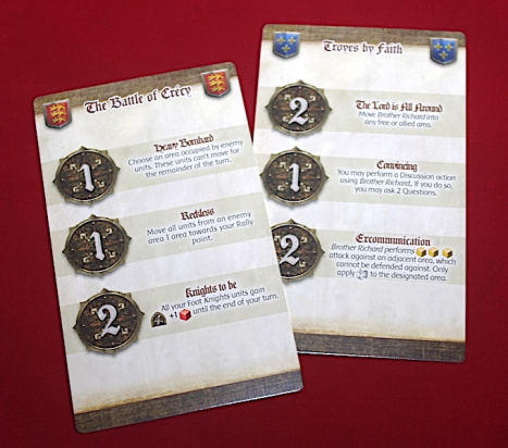 Time of Legends: Joan of Arc - Intrigue Cards