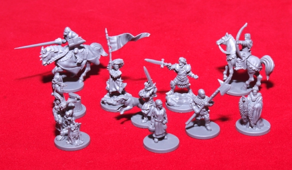 Time of Legends: Joan of Arc - Miniatures