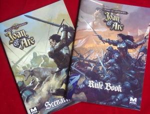 Time of Legends: Joan of Arc - Rules and Scenario books