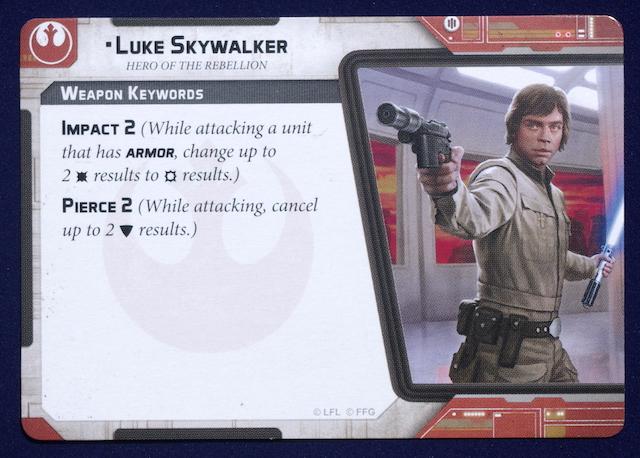 Star Wars: Legion Luke Skywalker