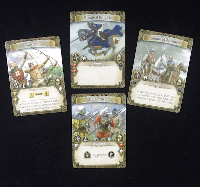Time of Legends: Joan of Arc - Troop cards