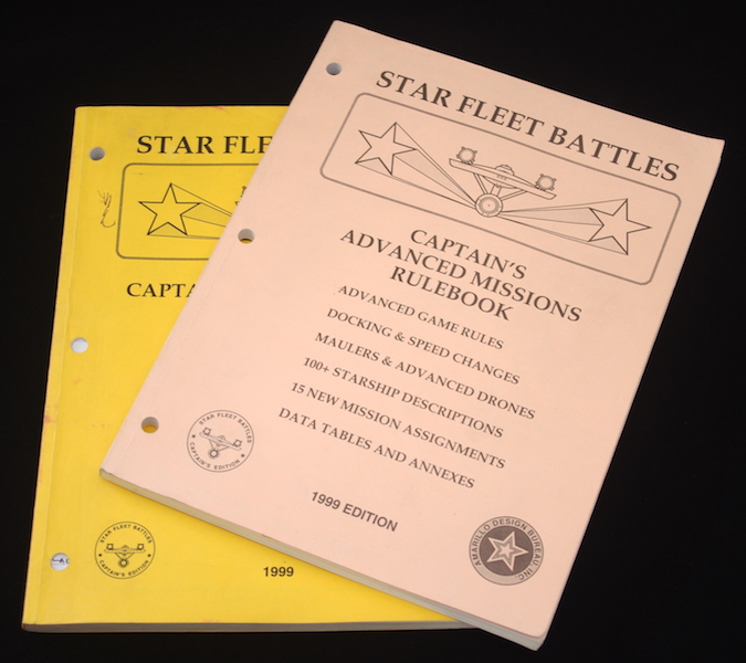Star Fleet Battles - Rulebooks