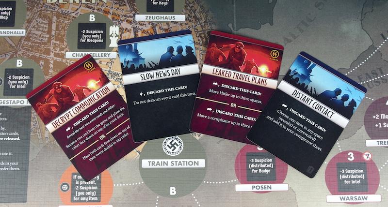 Black Orchestra - Conspirator cards