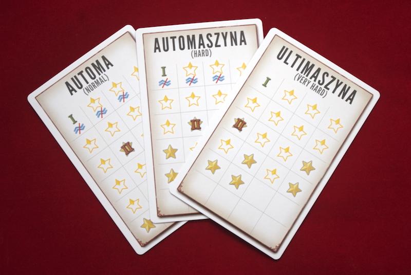 Scythe - Automa Tracker Cards