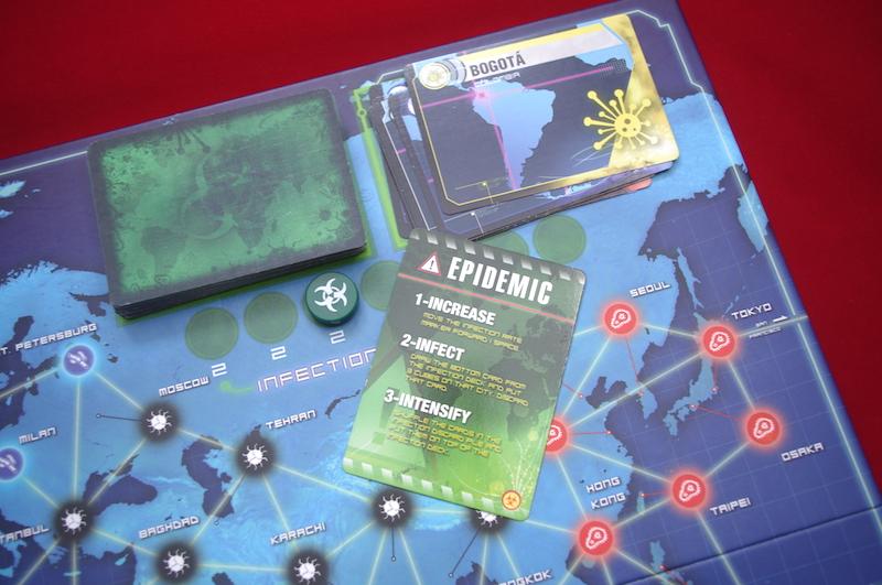 Pandemic - Epidemic card