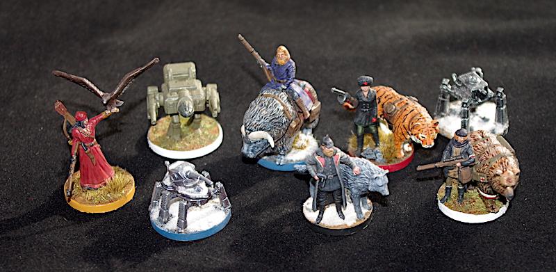 Scythe miniatures