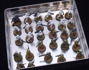 Star Wars: Legion Troopers in a tin!