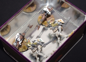 Star Wars: Legion - Magnetised in a tin!