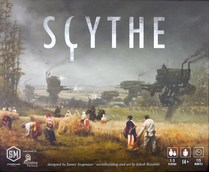 Scythe - Box Art
