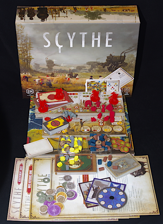 Scythe - What's in the box?