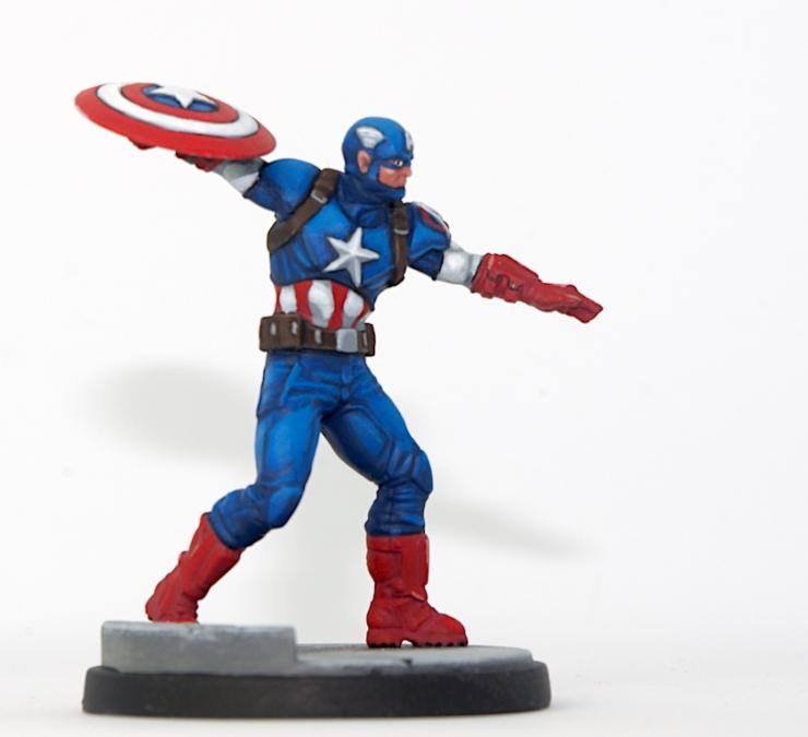 Marvel: Crisis Protocol - Captain America