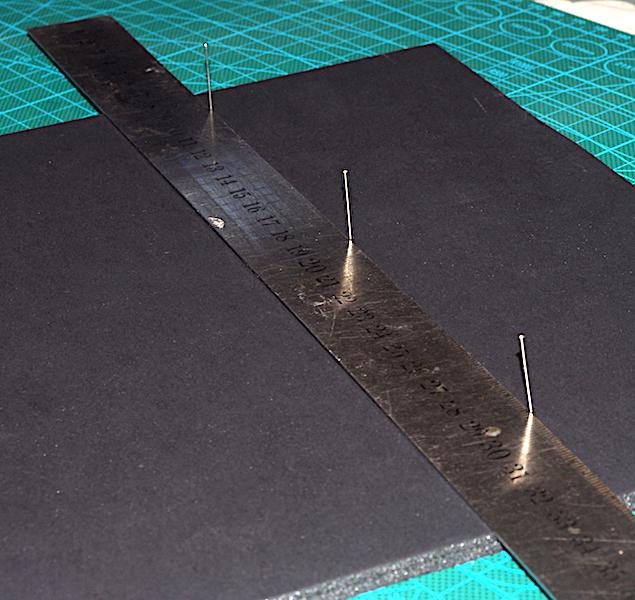 Working with foam board